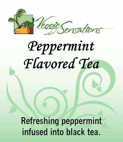 Peppermint Flavored Tea -Loose Leaf - VeggieSensations