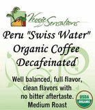 "Peru ""Swiss Water"" Decaf Organic Coffee"