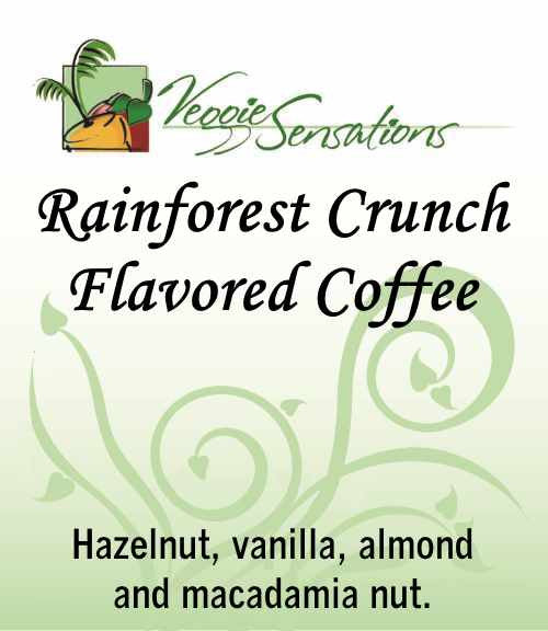 Rainforest Crunch Flavored Coffee - VeggieSensations