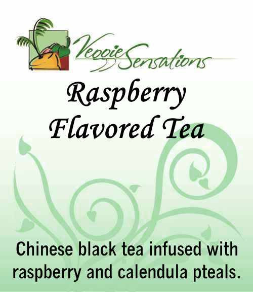 Raspberry Flavored Tea - Loose Leaf - VeggieSensations