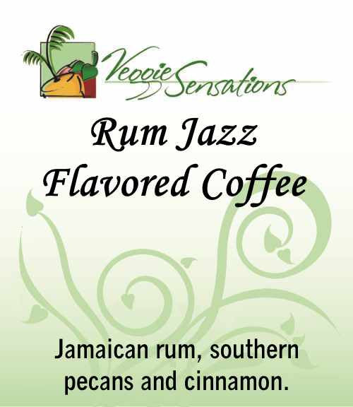Rum Jazz Flavored Coffee - VeggieSensations