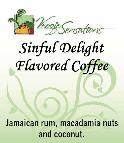 Sinful Delight Flavored Coffee - VeggieSensations