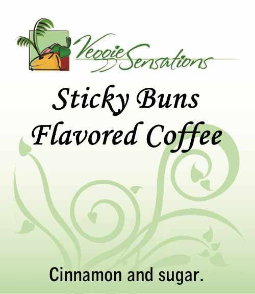 Sticky Buns Flavored Coffee - VeggieSensations