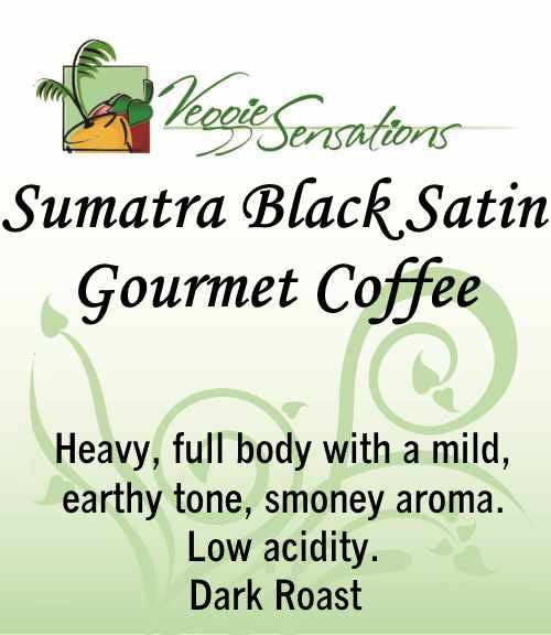 Sumatra Black Satin Gourmet Coffee