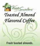 Toasted Almond Flavored Coffee - VeggieSensations