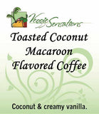 Toasted Coconut Macroon Flavored Coffee - VeggieSensations