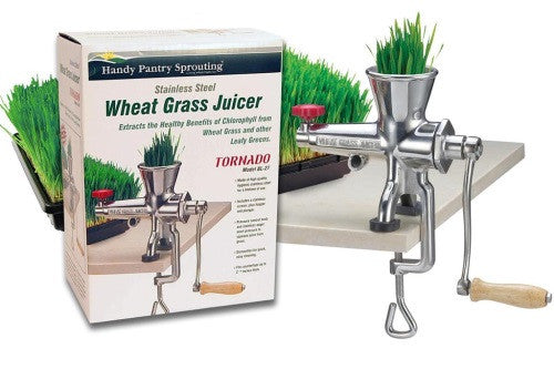 Tornado Stainless Steel Manual Wheatgrass Juicer