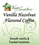 Vanilla Hazelnut Flavored Coffee - VeggieSensations