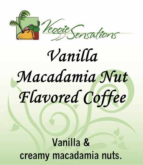 Vanilla Macadamia Nut Flavored Coffee - VeggieSensations