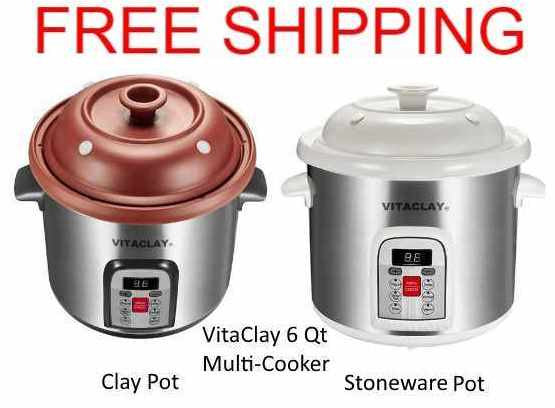 VitaClay 6.5 Quart Multi-Crock n' Stock Pots