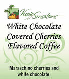 White Chocolate Covered Cherries Flavored Coffee - VeggieSensations