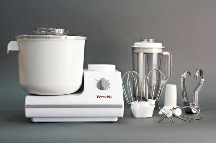 WonderMix Kitchen Stand Mixer Deluxe - VeggieSensations
