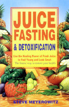 Juice Fasting and Detoxification Book - VeggieSensations