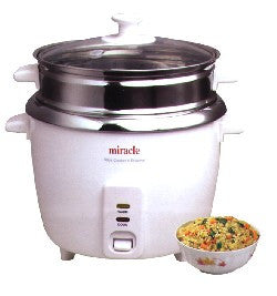 Miracle 12 Cup Rice Cooker Stainless Steel ME81