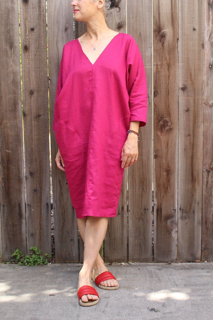 Rachel Craven :: Gwathmey Dress ~ L/S V Caftan