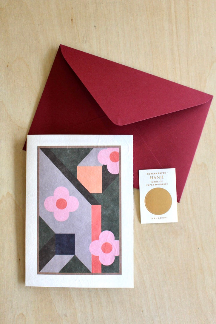 Hanaduri :: Blooming Greeting Card