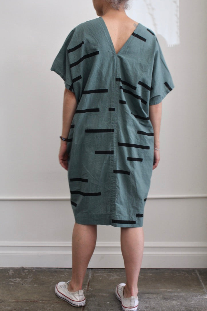Uzi :: Oversized V-Neck Dress