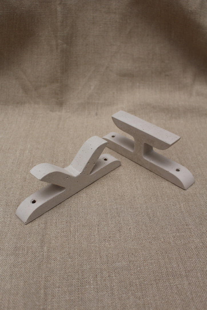Alice Tacheny Design :: Glyph Wall Hook - K Pale Mauve