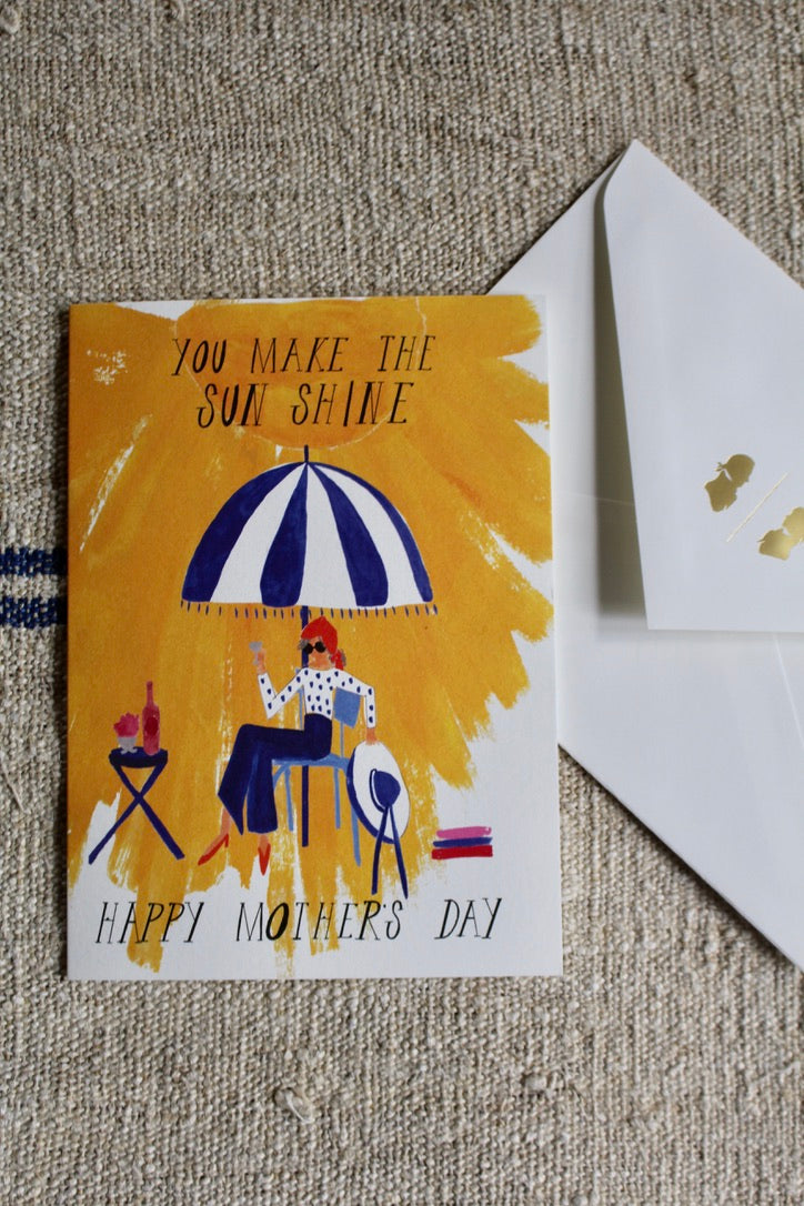Mr. Boddingtons Studio :: Mothers Day Sunshine, Greeting Card