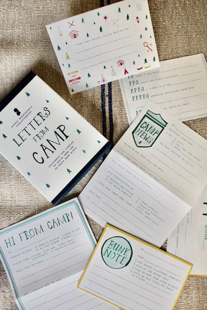 Mr. Boddington's Studio :: Letters from Camp Kit