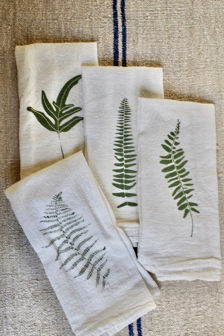 June & December :: Napkin Set 4, WIld Ferns