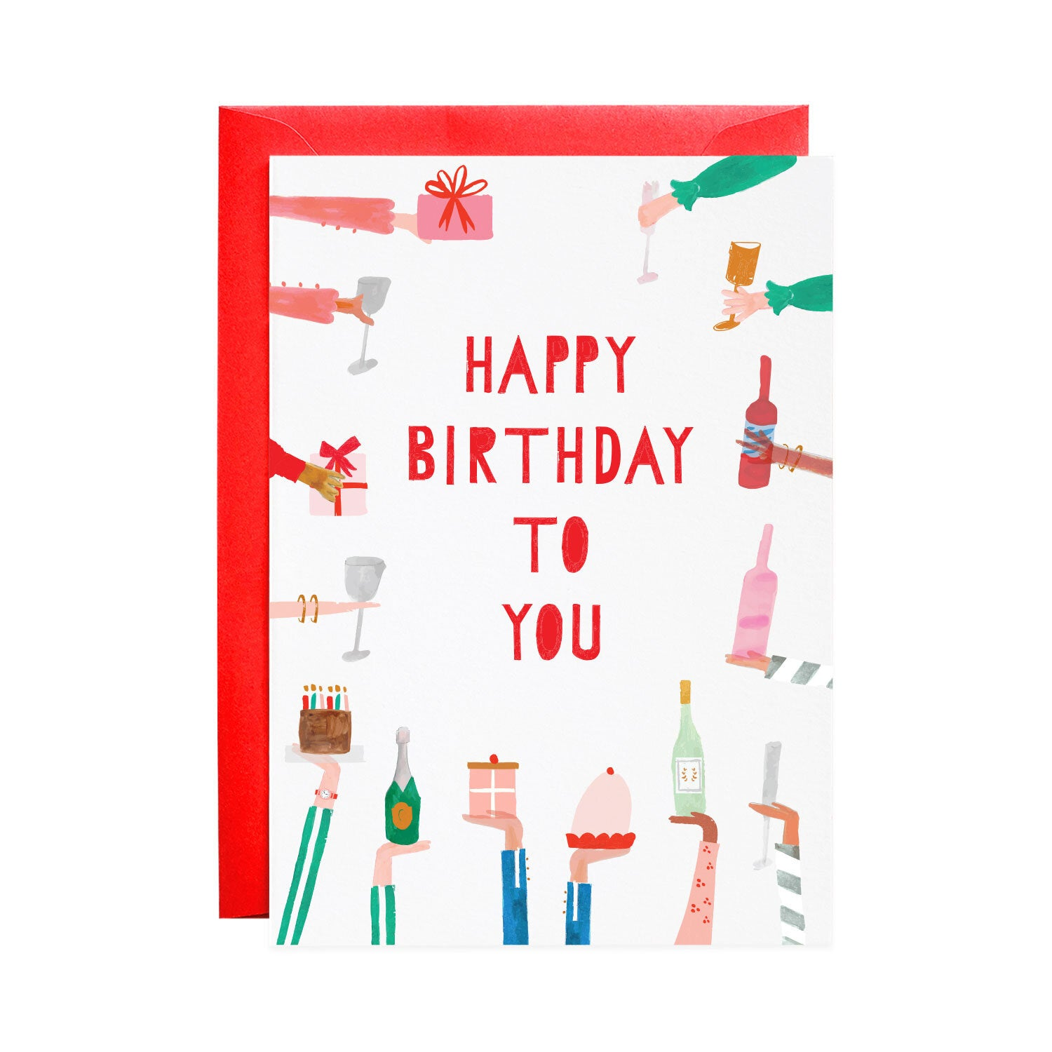 Mr. Boddingtons Studio :: Rather Deserving, Greeting Card