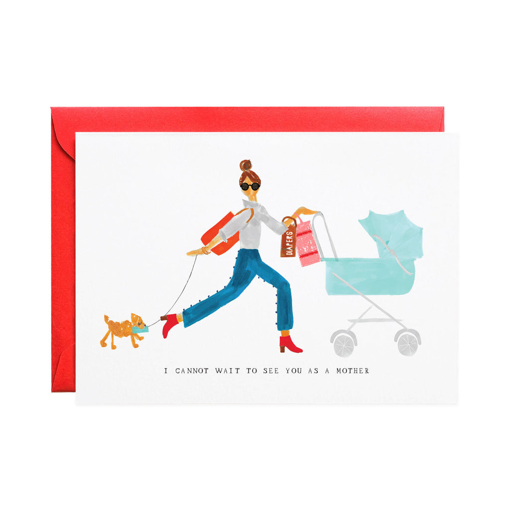 Mr. Boddington's Studio :: All This and More Baby, Greeting Card