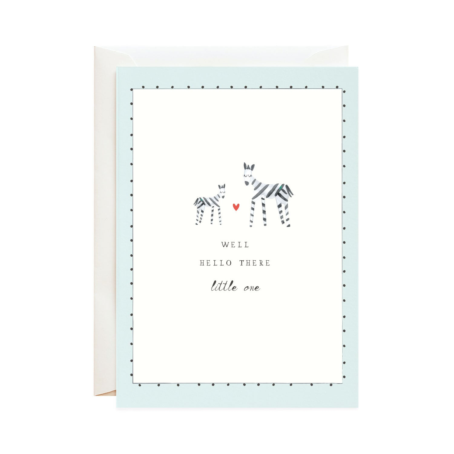 Mr. Boddington's Studio :: Matching Stripes Baby, Greeting Card