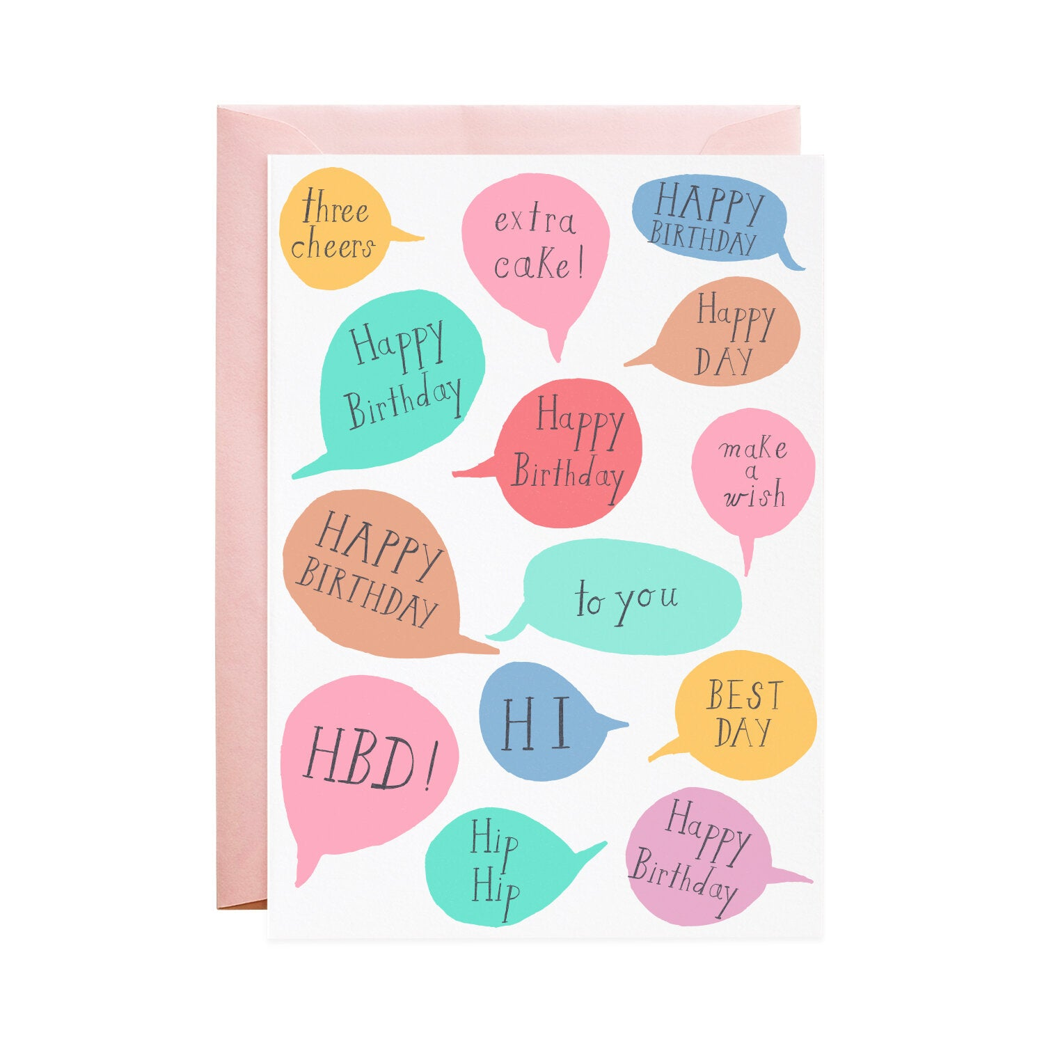 Mr. Boddingtons Studio :: Best Day Birthday, Greeting Card