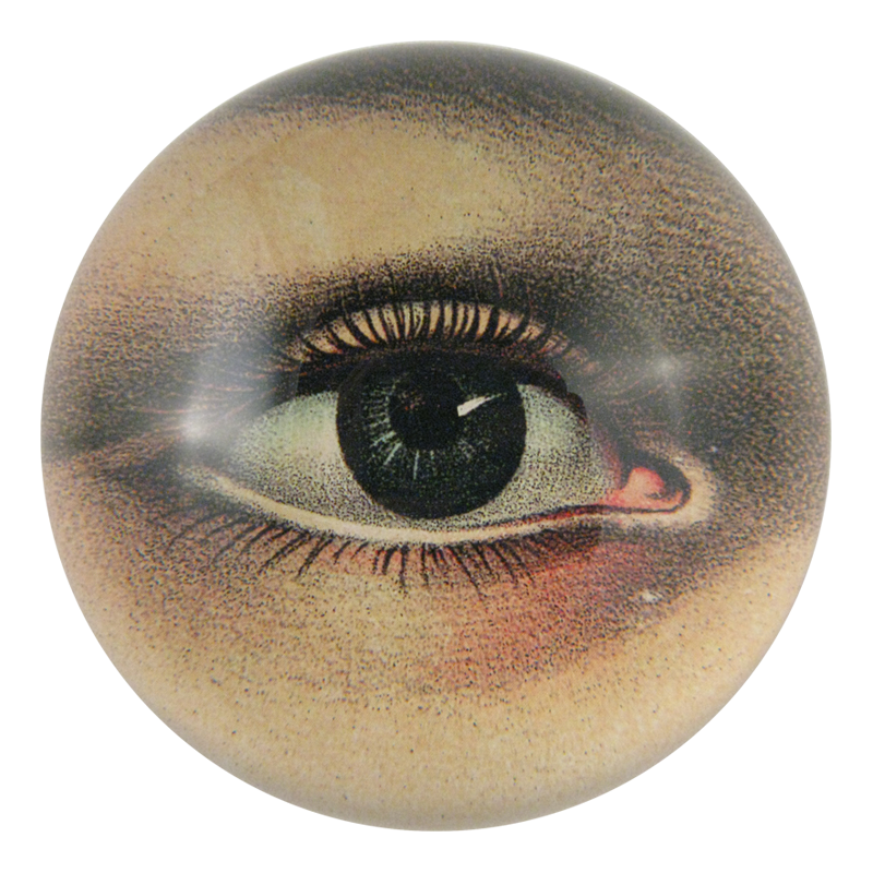 John Derian :: Dome Paperweight, Eye (Right)