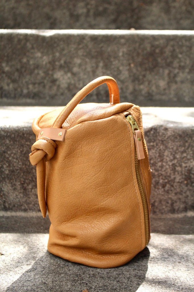 8.6.4 :: Leather Pouch, Tan
