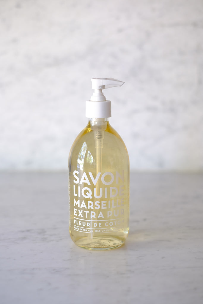 Compagnie de Provence  :: Cotton Flower Liquid Soap