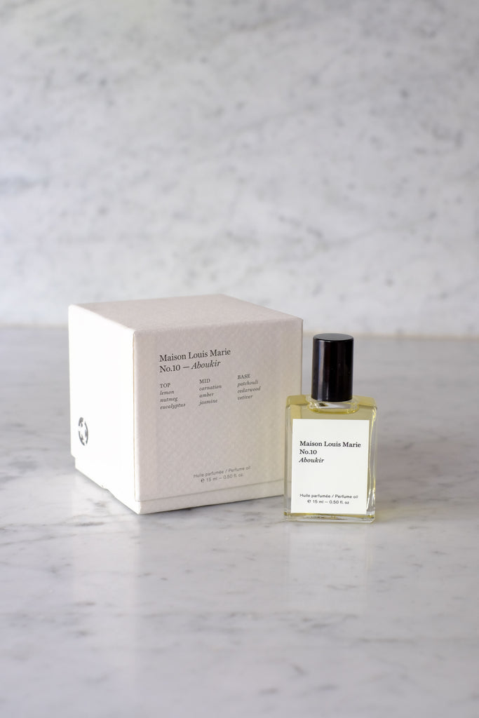 Maison Louis Marie :: Fragrance No. 10, Aboukir