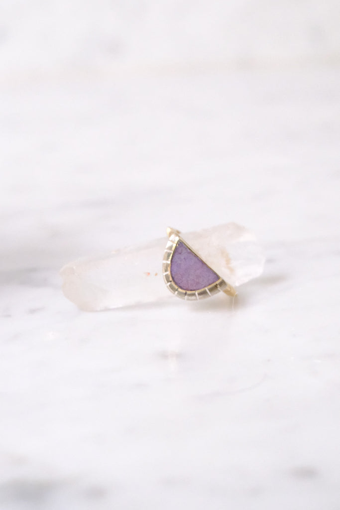Young In the Mountains :: Selene Ring, Jasper