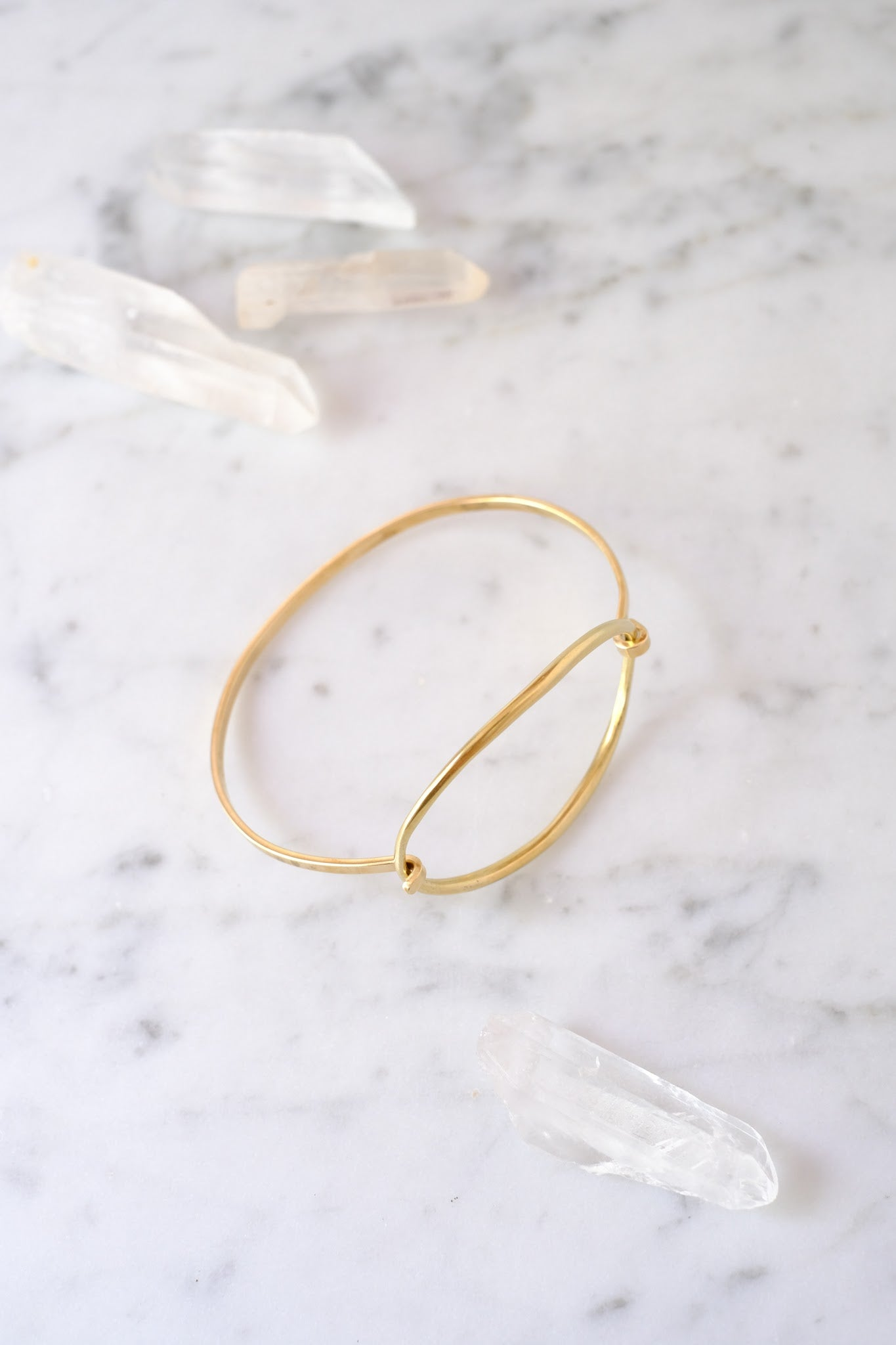 K/ller :: Bracelet, Ellipse Tension Cuff, Brass