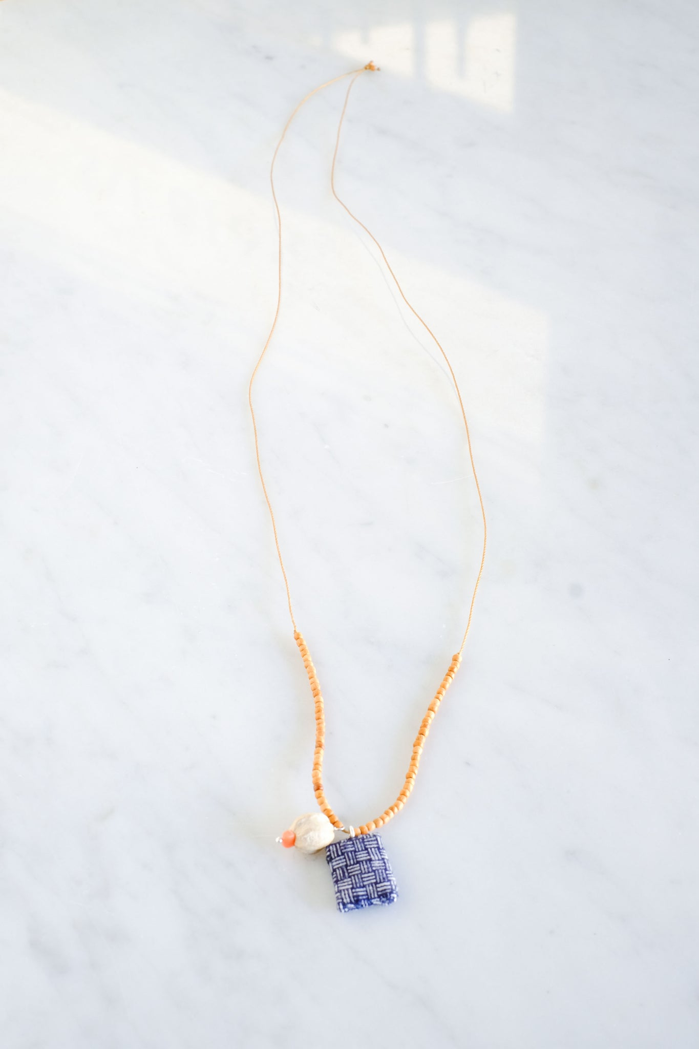 See Real Flowers :: Trinket Necklace Indigo