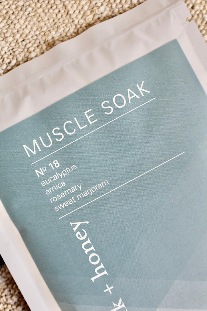 Milk + Honey Spa :: Muscle Soak Packets