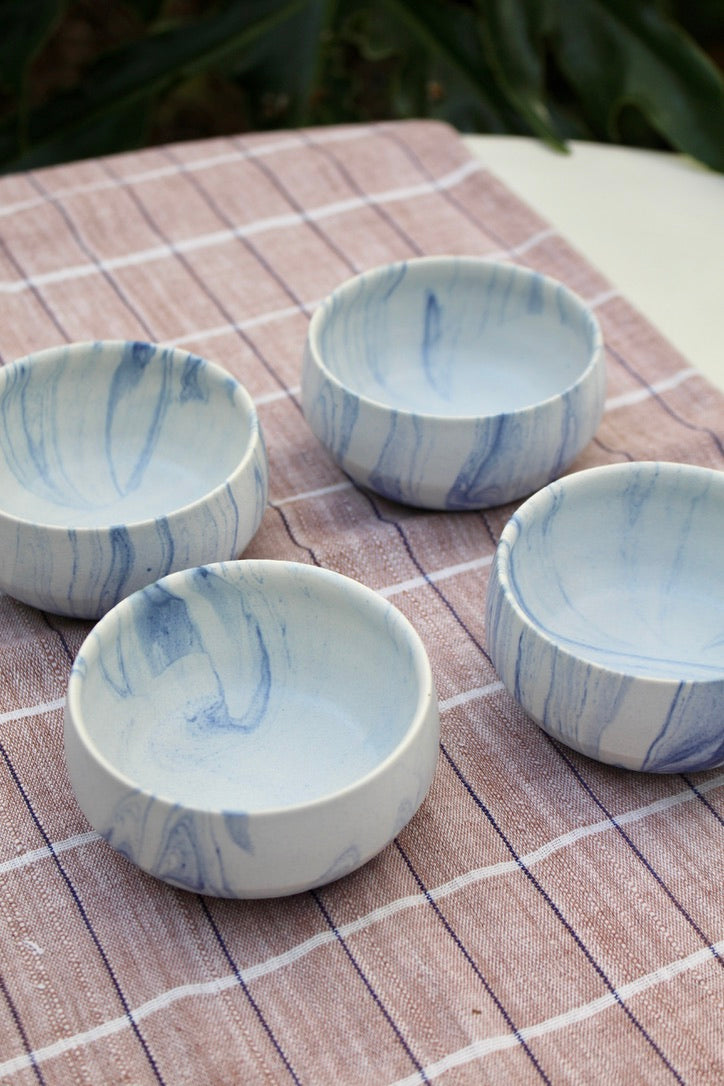 Miya :: Blue Marble Bowl