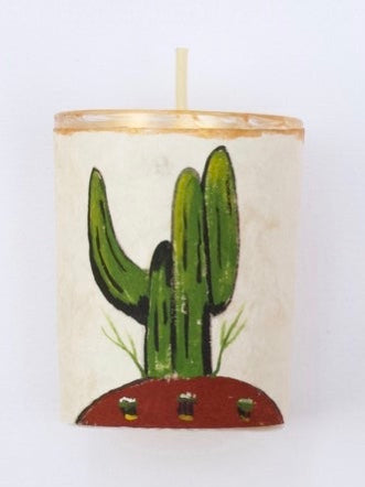 River Song :: Luis Romero Cactus Votive