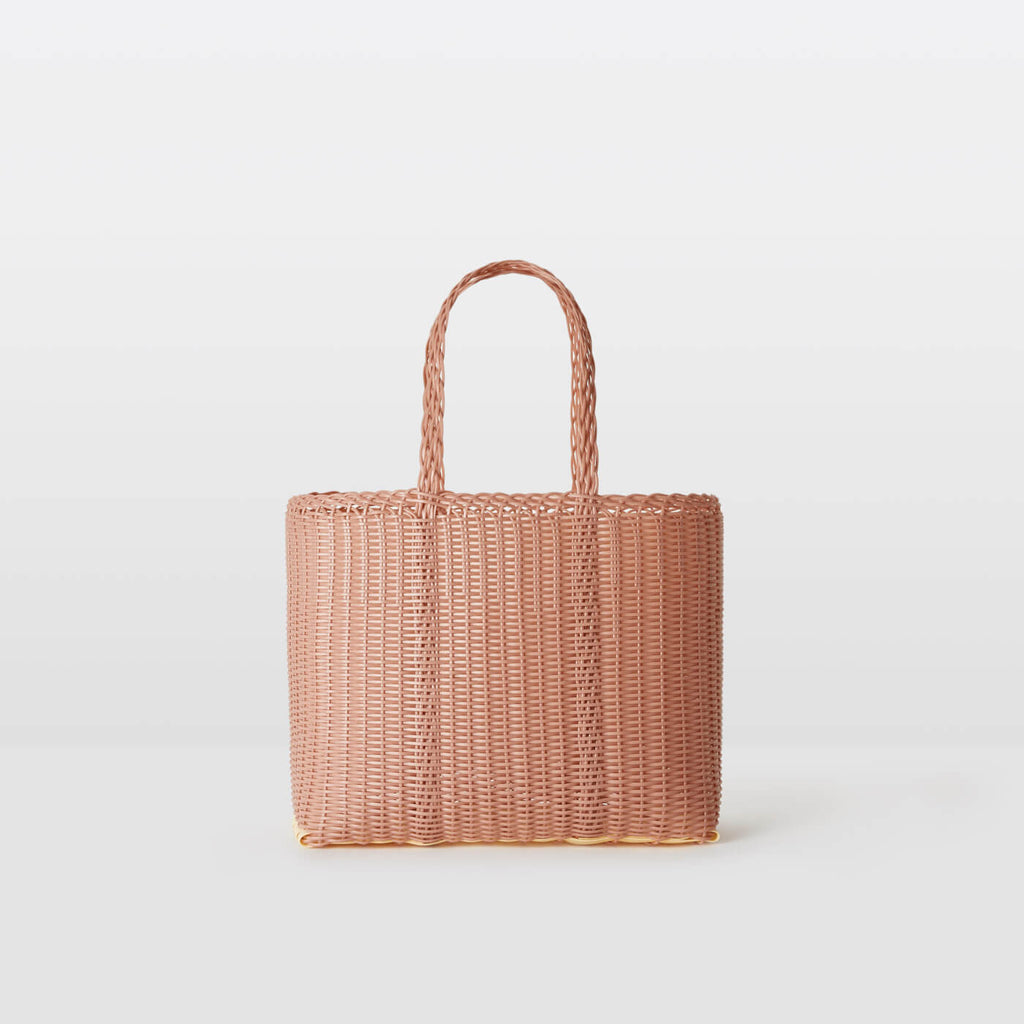 Palorosa Project :: Flat Basket, Rose Small