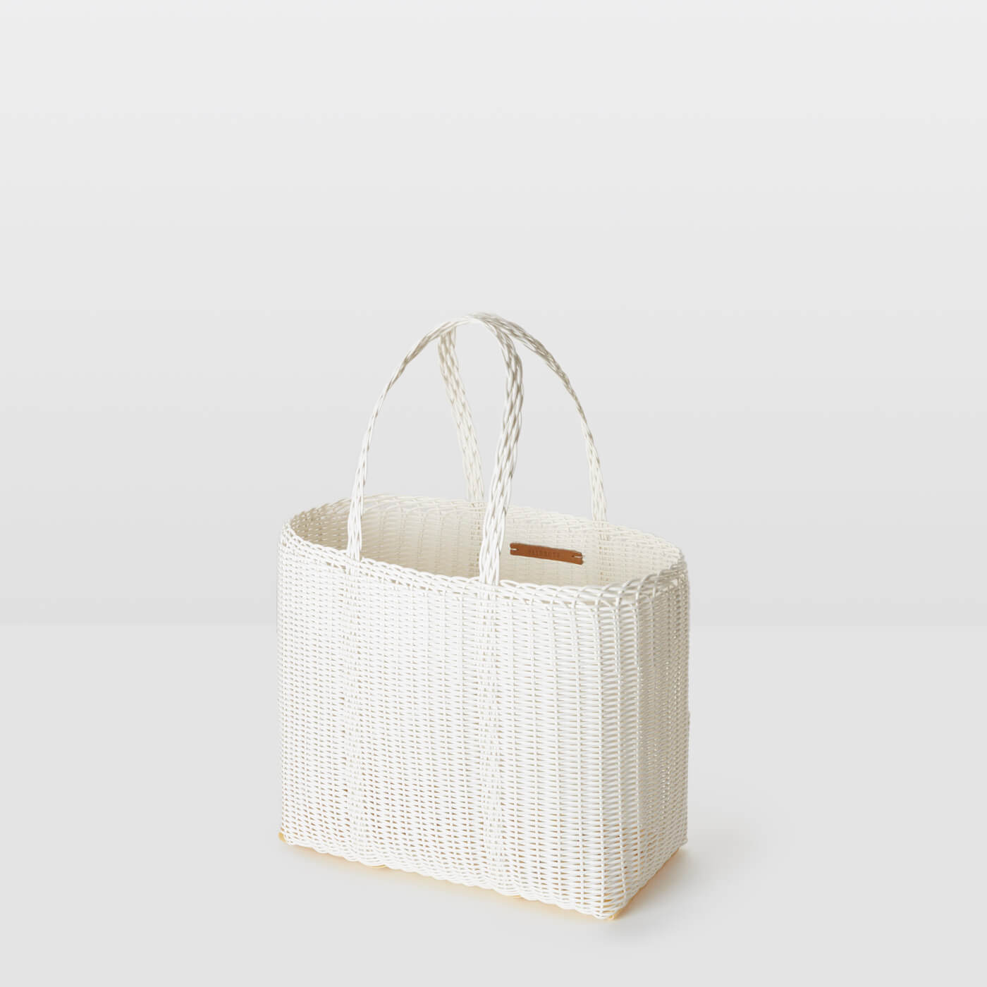 Palorosa Project :: Flat Basket, White Small