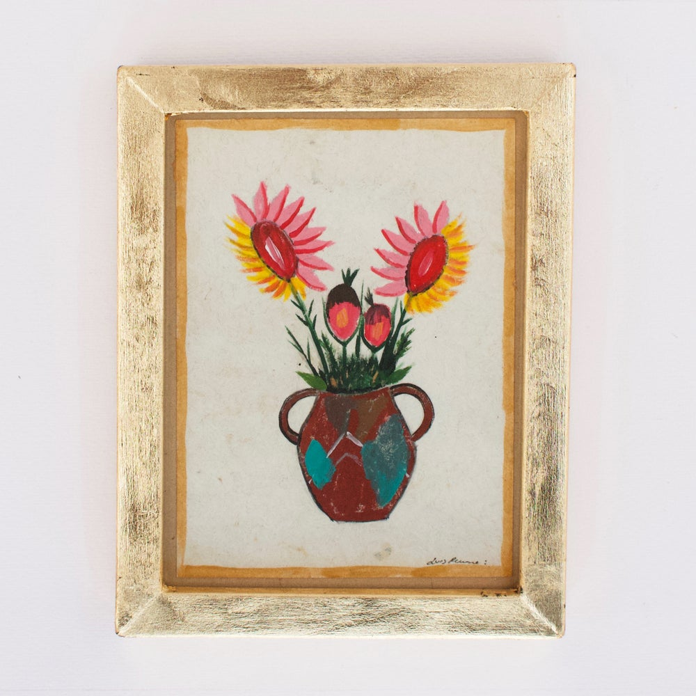 River Song :: Luis Romero Flower Pot Painting
