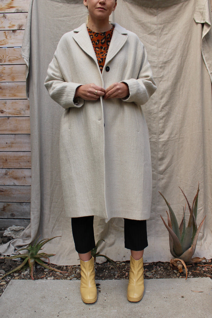 Pomandere :: 3 Button Coat