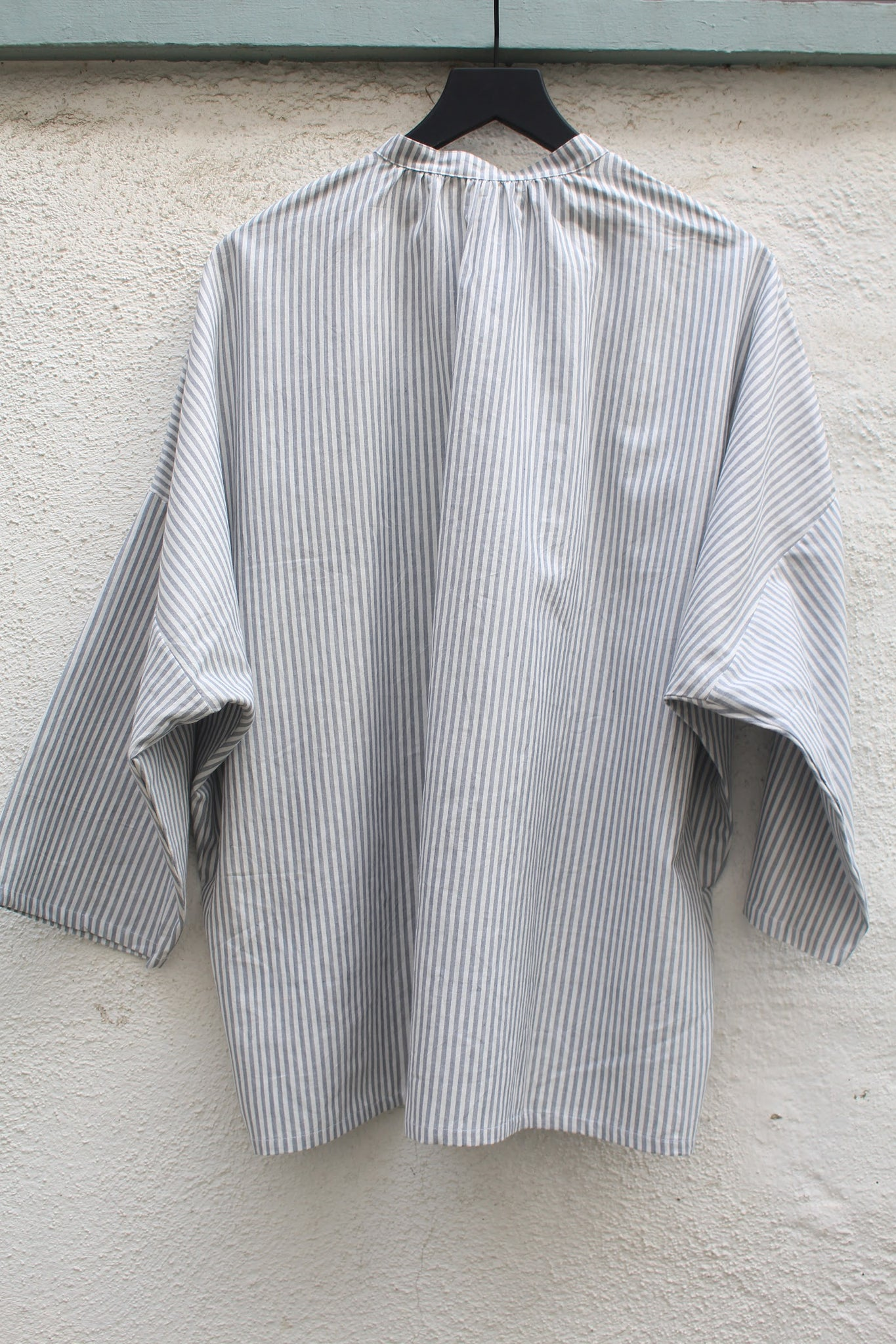 Two :: Grey Stripe Blouse