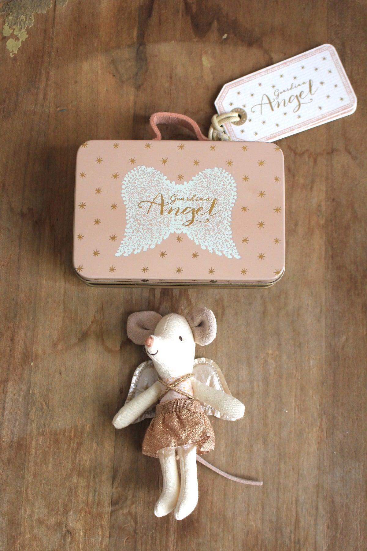 Maileg :: Guardian Angel Suitcase Mouse