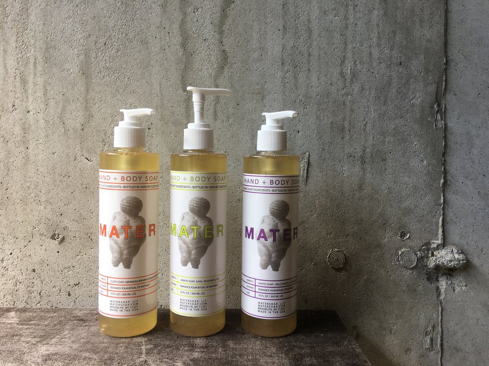 Mater Soap :: Flori Hand & Body Liquid Soap