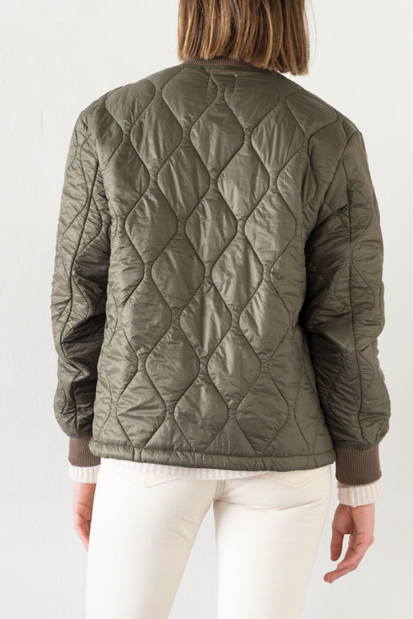 Save Khaki :: Quilted Nylon Bomber