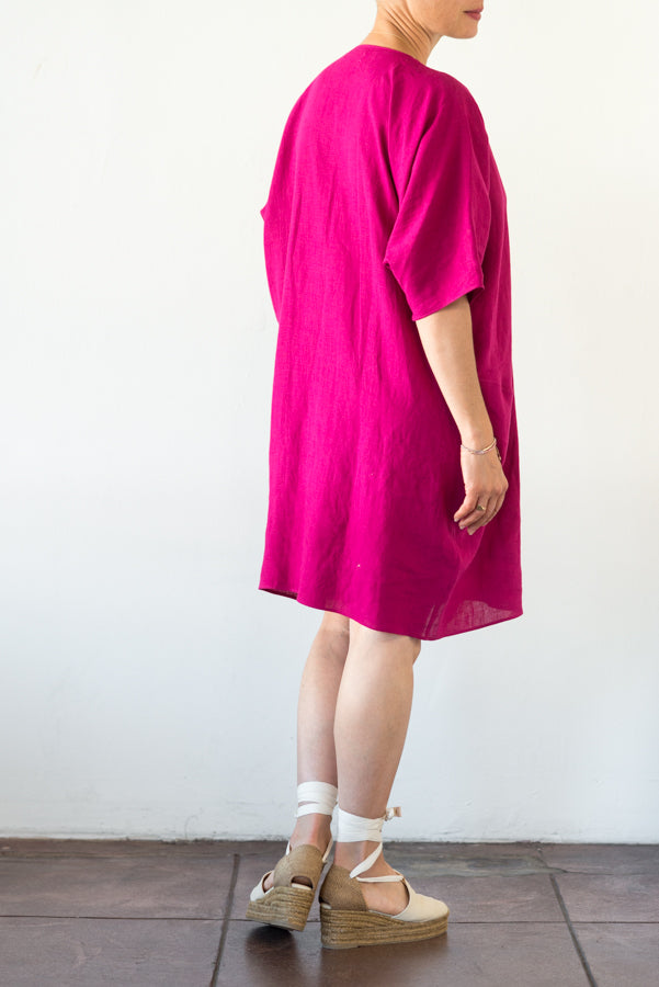 Rachel Craven :: Short V-neck Caftan