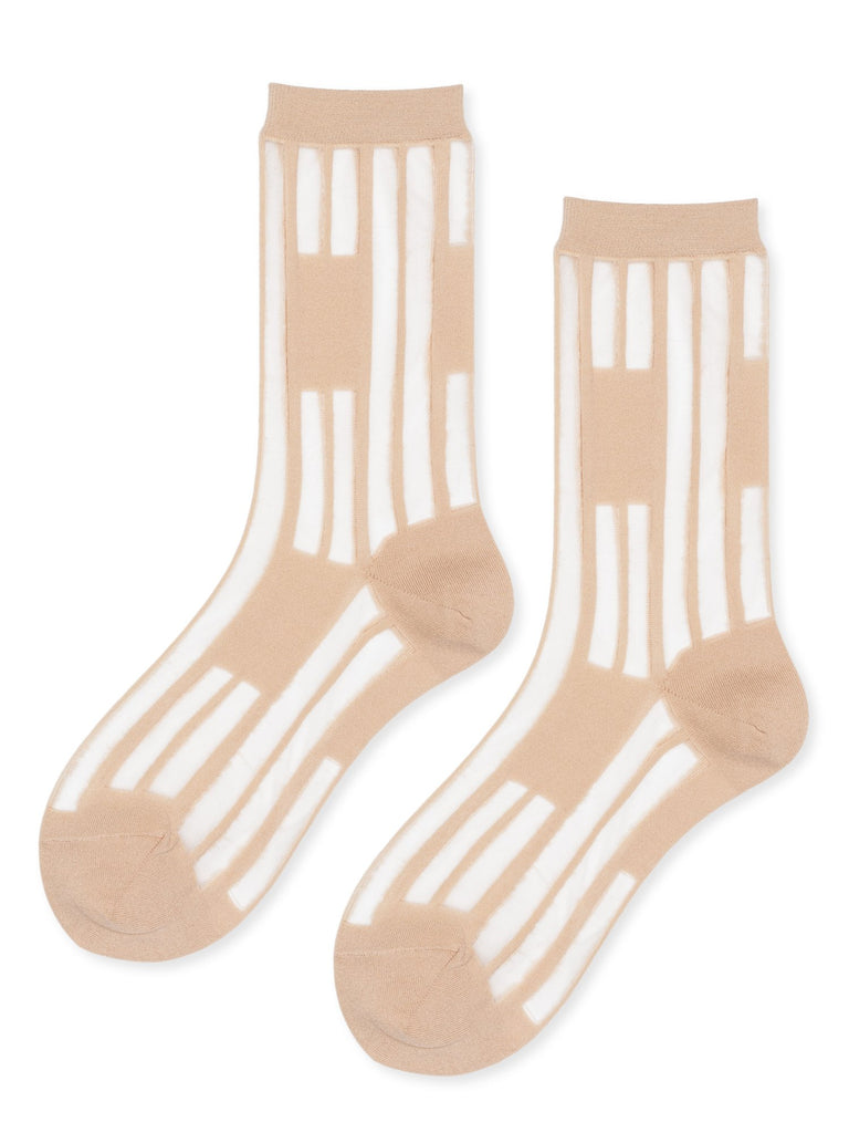 Hansel from Basel :: Keys Sheer Crew, Nude