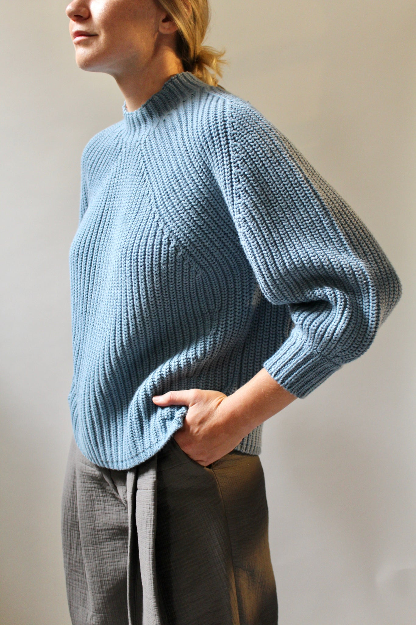Apiece Apart :: Merel Funnel Neck Crop Sweater